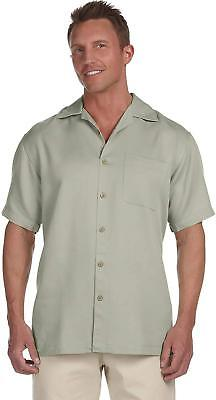 Harriton Men's Bahama Cord Camp Shirt *CLEARANCE SALE* Mens Cord Camp Shirt