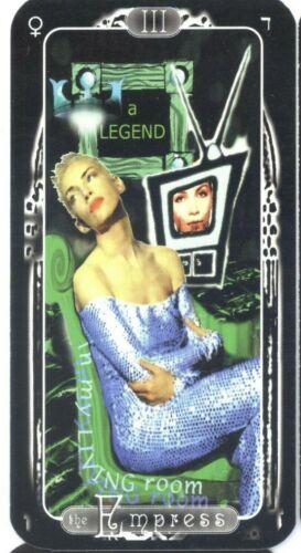 Annie Lennox Eurythmics Unique Rock n Roll Tarot Card