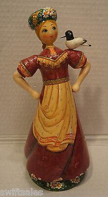 New Russian Matryoshka Hand-Made Linden Wood Doll - #7