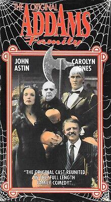 The Original Halloween Movie Cast (The Original Addams Family (VHS) Goodtimes Release ORIGINAL Cast)