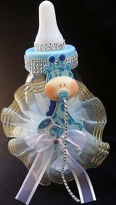 Used, Giraffe Centerpiece Bottle Big Large Baby Shower Piggy Bank Boy/Decoration,cake  for sale  Perris