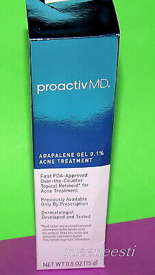 Proactiv MD Adapalene Gel 0.1% Acne Treatment - 0.5oz / 15g - NIB - Exp 2021