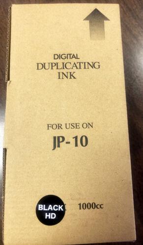 Digital Duplicating Ink for Ricoh, Gestetner JP-10 Black  INK-37