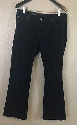 Kut from the Kloth farrah baby bootcut fit size 14 corduroy jeans black (Kut From The Kloth Farrah Baby Bootcut Black)