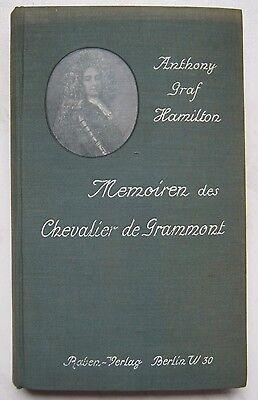 Anthony Graf Hamilton  Memoiren des Chevalier de Grammont