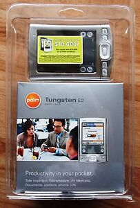 Palm Pilot Tungsten E2 PDA + New Unopened+
