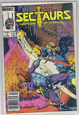 "HOT RARE Marvel's Sectaurs vol.1 #5 ""Warriors of Symbion"" March 1986"