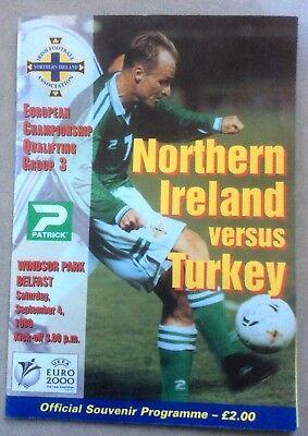 Northern Ireland v Turkey - Euro 2000 UEFA