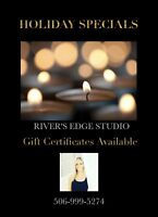 River's Edge Studio Specials - Gift Cards Available