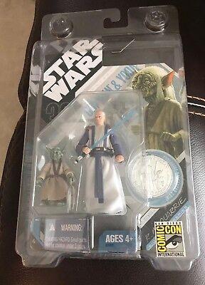 Star Wars 30th Anniversary McQuarrie Concept figure Obi-Wan & Yoda