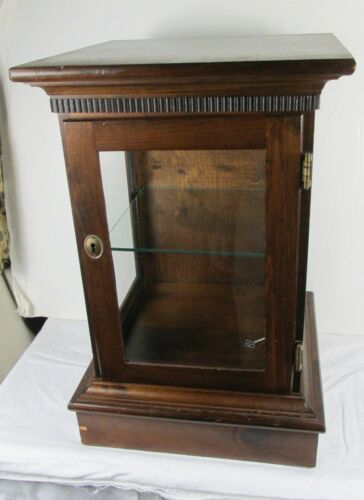 Antique PINE  DISPLAY/SHOWCASE Western Germany