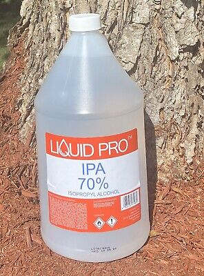Isopropyl Alcohol 70 Antiseptic Surface Cleaner 1 Gallon - Fast Shipping