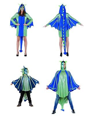 Drachenmann,Drachenkind oder Drachenfrau Kostüm Dragon Fantasy Karneval DFK1 (Kind Drachen Kostüme)