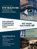 Medical ophthalmic assistant