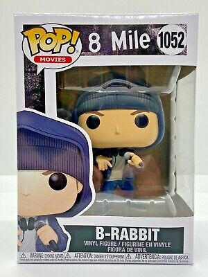 FUNKO POP EMINEM SLIMY SHADY B-RABBIT 8 MILE #1052 IN HAND w/ PROTECTOR