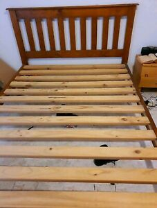 Wooden Queen Bed Frame