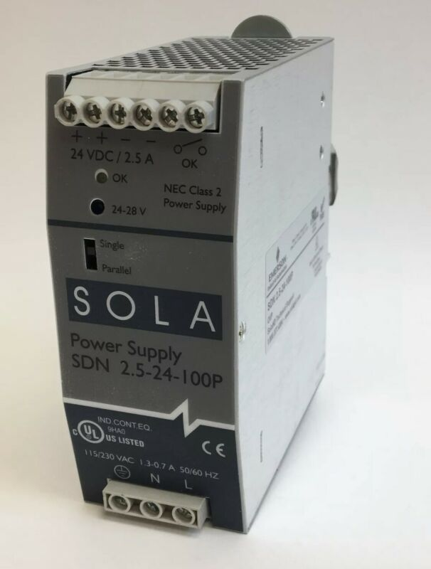 Emerson Sola SDN 2.5-24-100P Power Supply 24V