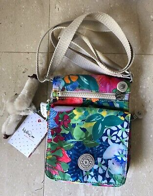 Kipling El Dorado Crossbody Tropical Garden Print, new with tags, retail $54.00