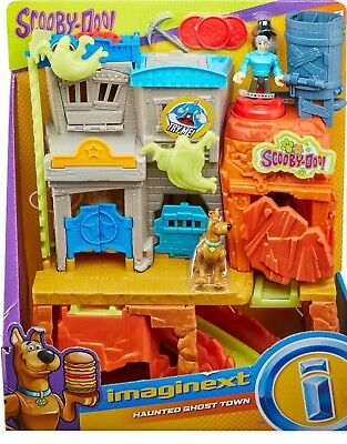 "NEW 2018 IMAGINEXT ""SCOOBY DOO"" HAUNTED GHOST TOWN PLAYSET"