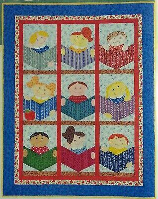 Kids Quilt Patterns (Scrap STUDY HALL KIDS Quilt  - Pattern From a Vintage Magazine )