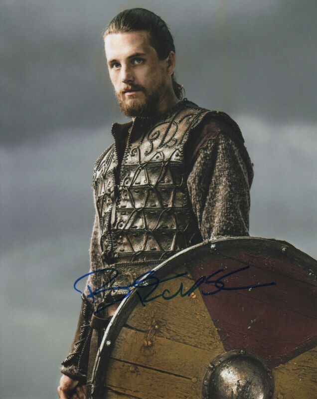 Ben Robson Vikings Autographed Signed 8x10 Photo COA