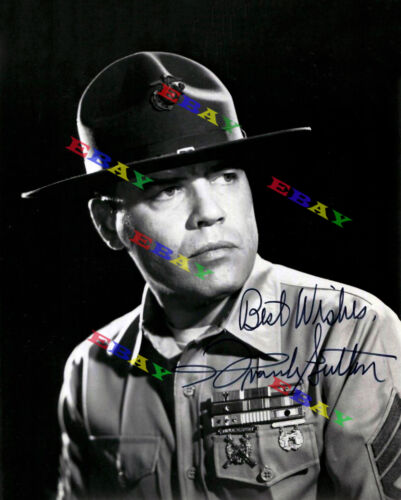 FRANK SUTTON Sergeant Carter Gomer Pyle Autographed Signed 8x10 Photo Reprint