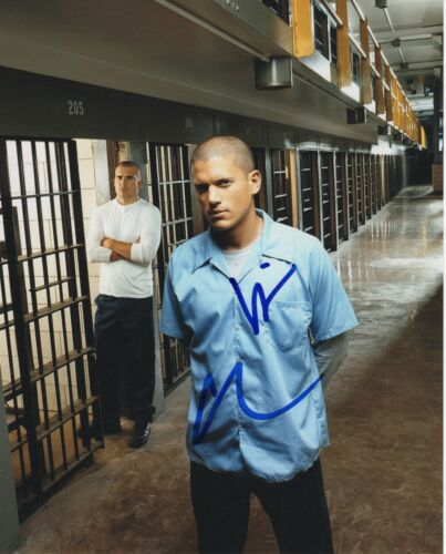 Prison Break Wentworth Miller Purcell Autographed Signed 8x10 Photo COA 2019-2