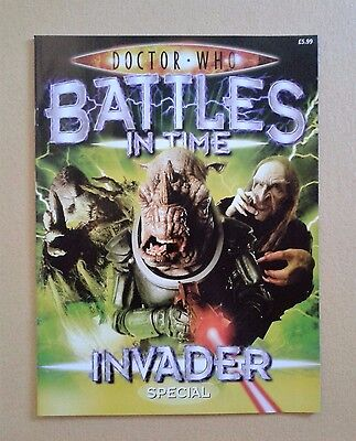 Doctor Who Battles in Time `Invader Special` Magazine