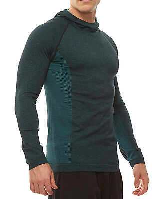 HPE FRESH FIT STRETCH UV PROTECTION SILVER TECHNOLOGY CROSS X SEAMLESS HOODIE XL