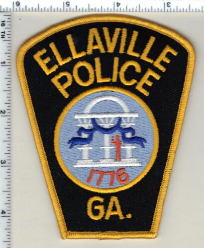 Ellaville Police (Georgia)  Shoulder Patch - new from 1992