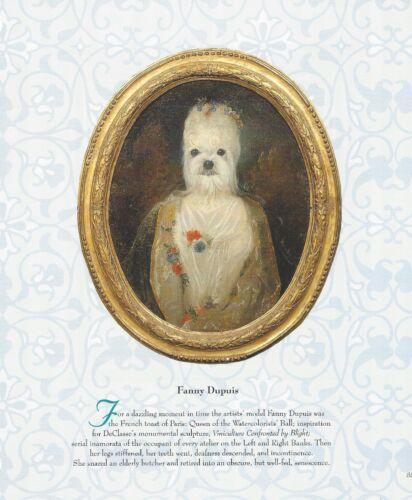 Maltese - Vintage Dog Art Print - Poncelet