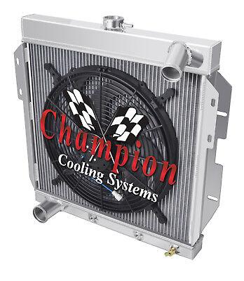 4 Row Best Cooling Champion Radiator W/ 16