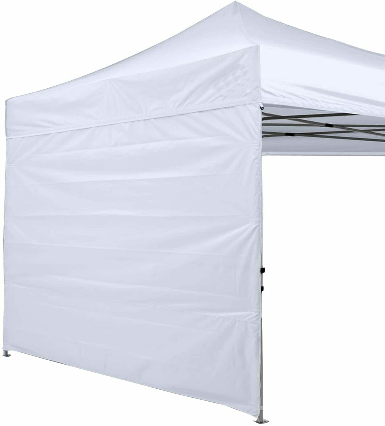 instant canopy sun wall panel 10x10 ft