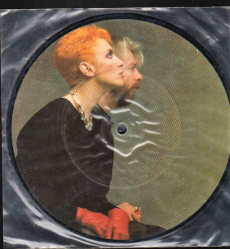 EURYTHMICS 1983 PICTURE DISC Here Comes the Rain Never Played Promo Single!