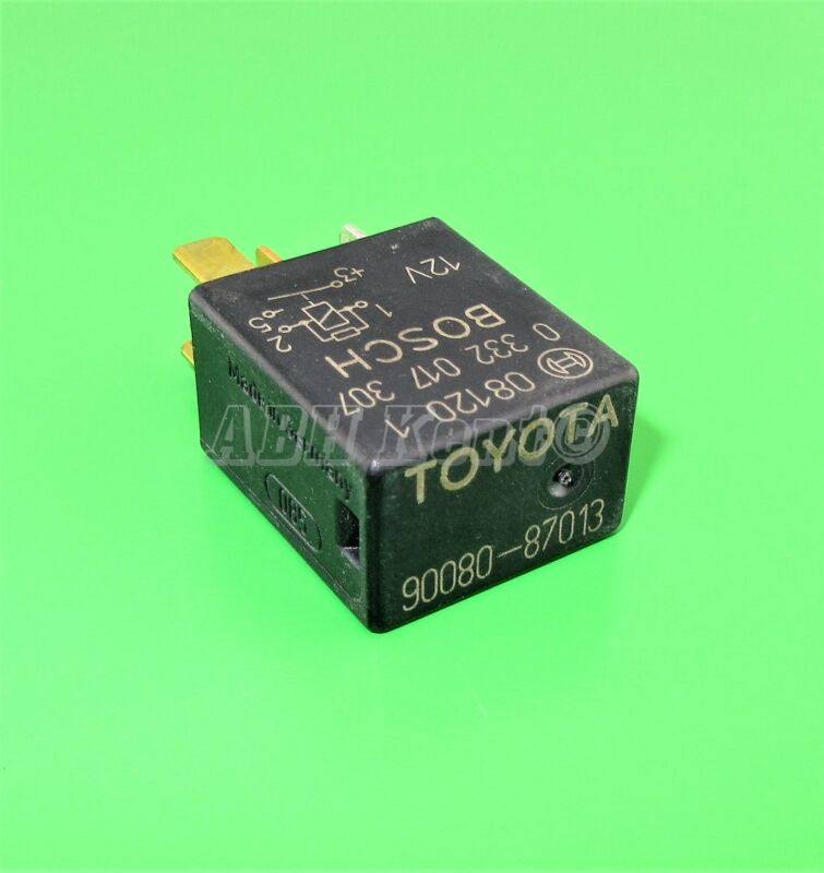 91-Toyota Lexus (95-10) Multi-Use 4-Pin Black Relay 90080-87013 Bosch 0332017307