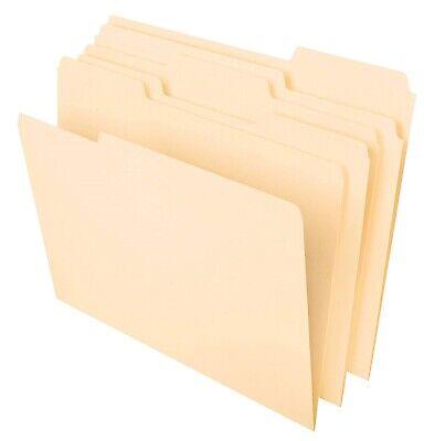 Pendaflex File Foldersletter Size8-12x11classic Manila13-cut Tabs100box