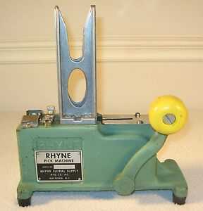 Rhyne-Floral-Pick-Machine-Silk-Dry-Flower-Arranging-Steel-Pick-Machine