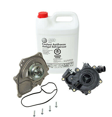 Genuine Thermostat/Water Pump Kit For Audi A3 A4 A6 TT Quattro Q7