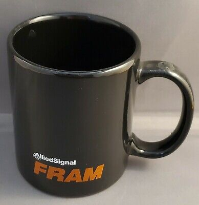 Vintage Allied Signal Fram Filters advertising coffee mug/cup ONLY ONE ON EBAY!