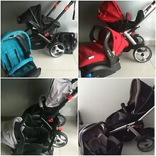 AS NEW STEELCRAFT  STROLLER & CAR CAPSULE - MULTIPLE COLOURS AVAILABLE Ashmore Gold Coast City Preview