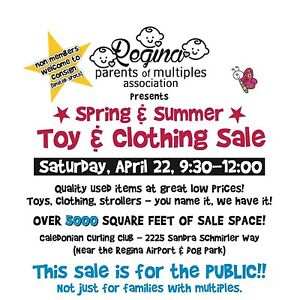 Regina's largest Kids Toy and Clothing Sale