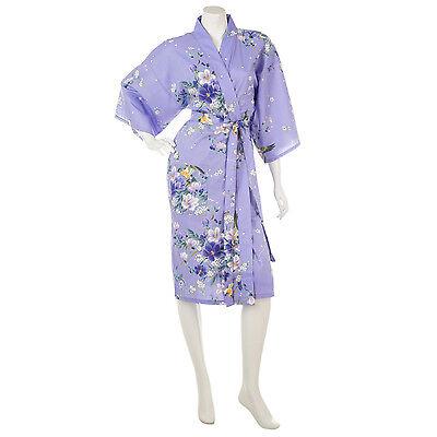 Japanische Kimono Kleid (Magnolia kurz Baumwolle Japanische Kimono)