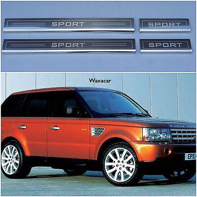 Lockwood Range Rover Sport (2005-2012) Kick Plate Car Door Sill Protectors -K02B