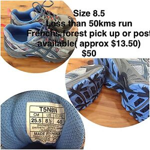 Asics gel venture 8.5 Frenchs Forest Warringah Area Preview