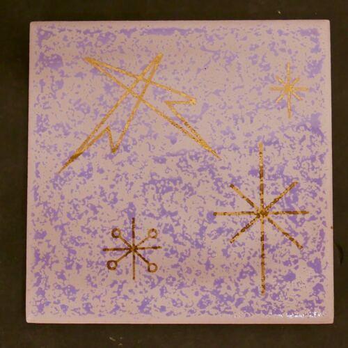 Starburst Tile Vintage Mid-Century Modern