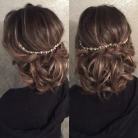 Professional Hairstylist Specializing in Bridal Hairstyles