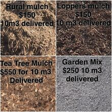 Mulch soil bulk 10 m3 loads Coomera Gold Coast North Preview