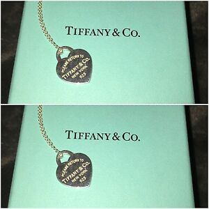 Classic Tiffany & Co Heart Necklace