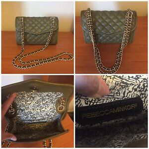 AUTHENTIC Rebecca Minkoff Quilted Mini Affair Cross Body Bag