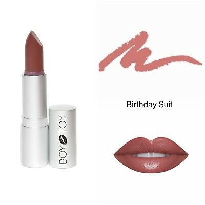 ALL NATURAL ORGANIC LIPSTICK - 'BIRTHDAY SUIT' nude lipstick](Naked Suit)